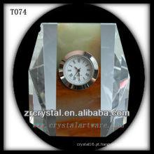 Maravilhoso relógio de cristal K9 T074