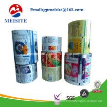 Пищевая сорта CPP Metallic Laminate Popcorn Упаковочная рулонная пленка