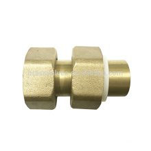 brass water meter union