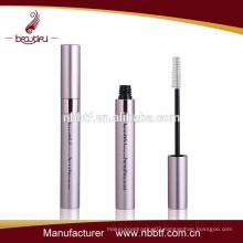 Hot Selling matt pink aluminum empty packaging cosmetic mascara tube