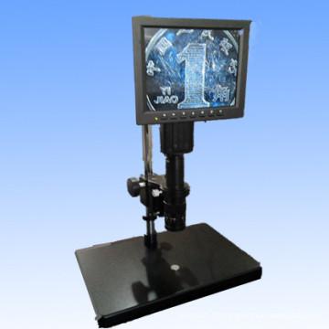 Microscópio video monocular com tela do diodo emissor de luz Mzw0745-LED
