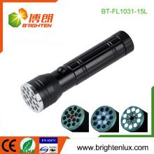 Fabrik Großhandel Günstige 3 in1 Multifunktions beste Aluminiumlegierung 15 führte Laser-Zeiger uv Licht führte Taschenlampen-Fackel