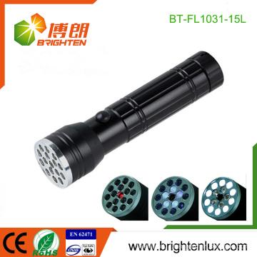 Factory Wholesale Cheap 3 in1 Multi-function Best Aluminum Alloy 15 led Laser Pointer uv light led Flashlight Torch