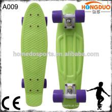 "22/27 ""atacado mini cruzador skateboard longboard completo"
