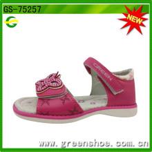 Sandálias de verão doce novo estilo menina