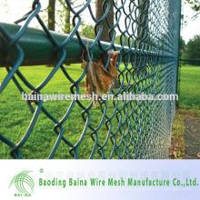 China proveedor malla de alambre de revestimiento de plástico verde