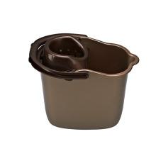 Cucharón plástico de limpieza al por mayor de la nueva limpieza plegable al por mayor del 100% mini cubo de la fregona