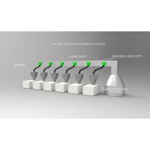 Machine d'alimentation automatique pour granulés et extrudeuses en plastique