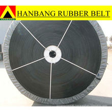 Rubber cold resistant conveyor belt
