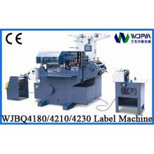Wjbq4180 CNC plana máquina de impresión de la etiqueta