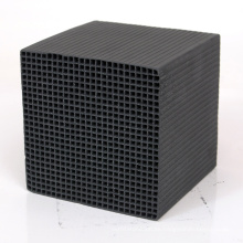 Wooden Activated Carbon Honeycomb Block For Hydrogen Chloride Removal
