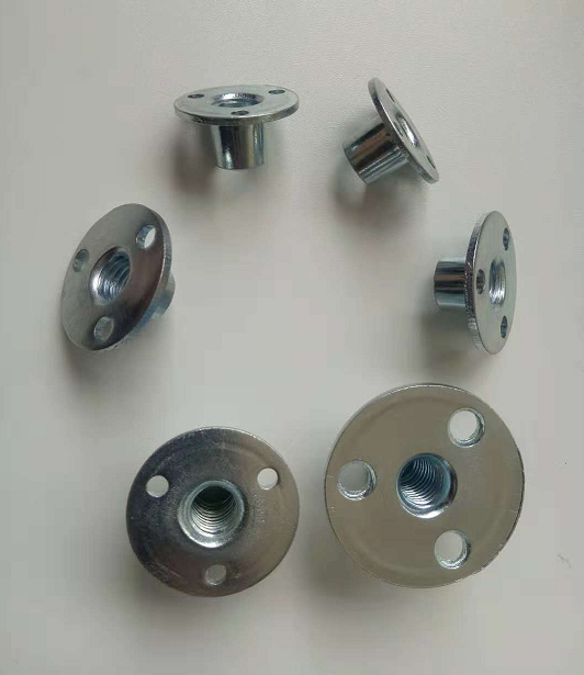 Round T-Nuts For Cliff-Climbing