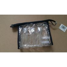 5PCS pet plástico tornillo tapa frasco de viaje frasco de viaje conjunto