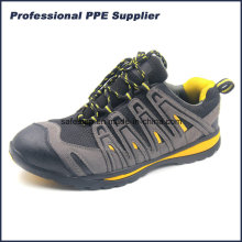 Lightweight Composite Toe and Kevlar Midsole Sport Style Safety Shoes Ss-037