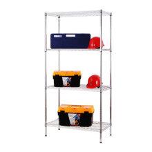 NSF Chrome Metal Metro / Garage Wire Shelving Rack 500lbs par étagère