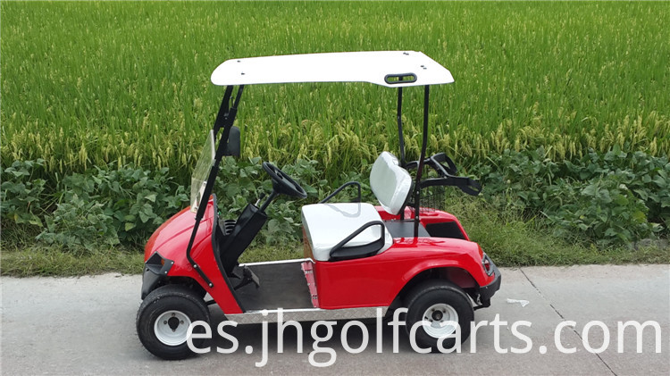 2 seater gasoline golf carts