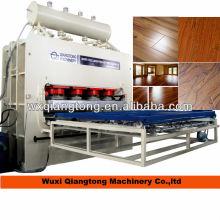 Matériaux de fabrication de parquet stratifié à haute brillance / équipement de parquet en bois