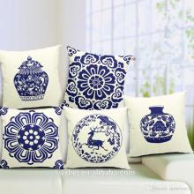 Venda da fábrica 100% algodão impressão personalizado estilo chinês fronhas