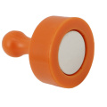 Orange Color Magnetic Push Pin for White Board