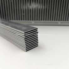 Tube en aluminium ovale plat 4343/3005/4343 pour radiateurs
