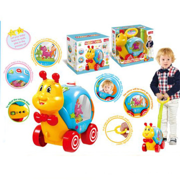 Crianças puxar push caracol b / o brinquedo (h0278050)