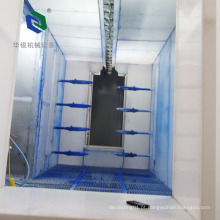 Nenhuma máquina de revestimento automática ambiental do pó da poluição / linha de revestimento pó