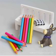mini crayon de couleur en bois