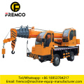 Hydraulic Truck Crane With Homemade Chassis