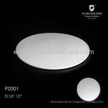 Keramik-Pizzaplatte für Restaurants und Hotels