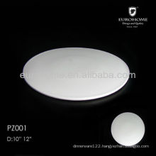 ceramic pizza plate for restaurants and hotels