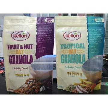 Stand Up Pouch per Granola