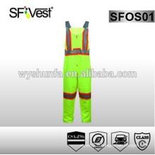 Combinaisons de sécurité réfléchissantes à haute visibilité avec ruban réfléchissant, classe 2 CAS Z96-09