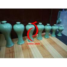 Pintado a mano grandes vasos de cerámica chino piso como decoraciones para el hogar, jarrones de cerámica