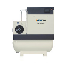 XLPMTD7.5A-20A pm motor vsd all in one industrial screw air compressor with tank and dryer