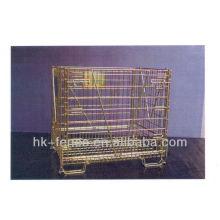 Arame farpado de alta resistência com cabo de madeira