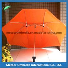 Öffnen Sie Sonnenschutz-Motorrad-Regenschirm