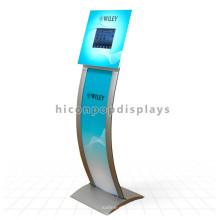 Logotipo de encargo Diseño libre del metal Cubierta Nuevo E-Libro que anuncia la pantalla táctil Centro comercial Kiosco