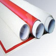 Toiles en fibre de verre en caoutchouc et en silicone