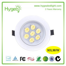 Environmental protection Energy saving LED Downlight 7W Anti fog LED Spot light Quality assurance 3years warranty