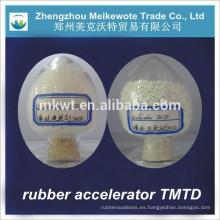 TMTD (CAS NO.:137-26-8) para los importadores de productos químicos de caucho de la India