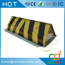 road barricade automatic retractable hydraulic road blocker