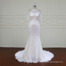 Latest Design off Shoulder Mermaid Wedding Dress