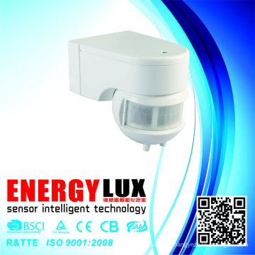 Es-P08 180degree Wall Mount Stand Alone PIR Motion Sensor