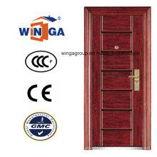 Puerta de acero de la seguridad del oscilación de la alta calidad del ce Sunproof (WS-118)