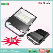 Luz LED para exteriores con 80W Moso TUV Bis Osram Chip Mini Ultra Thin LED Luz de inundación 50W 100W 150W