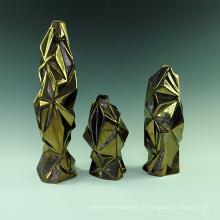 Glaz Finish Unregelmäßigkeit Porzellan Kunst Handwerk für Hotel Dekoration (A0801)