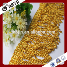 Cortinas decorativas cortina de lingotes frágil Franja de borlas para textiles para el hogar
