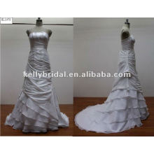 2012 newest organza flower wedding dress bridesmaid dressKL1078