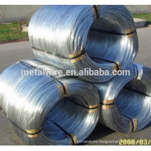 High quality hot dipped or electro galvanized binding wire
