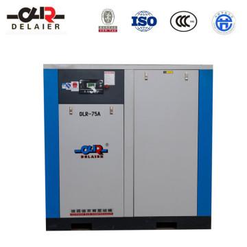 Dlr Rotary Screw Compressor Screw Air Compressor Dlr-75A